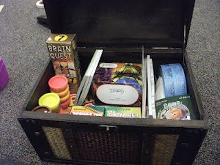 Treasure Chest of Fun holds activities to promote positive behavior in the classroom!
