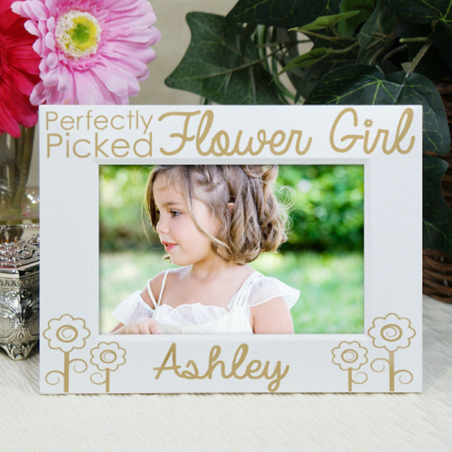 Personalized Engraved Flower Girl Picture Frame | Products ...