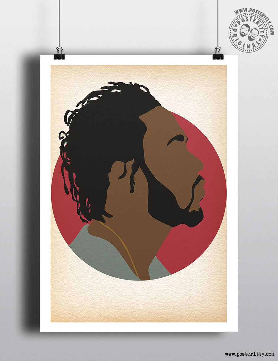 A4 Art Print Rapper and Musician Chance the Rapper Original A4 Poster