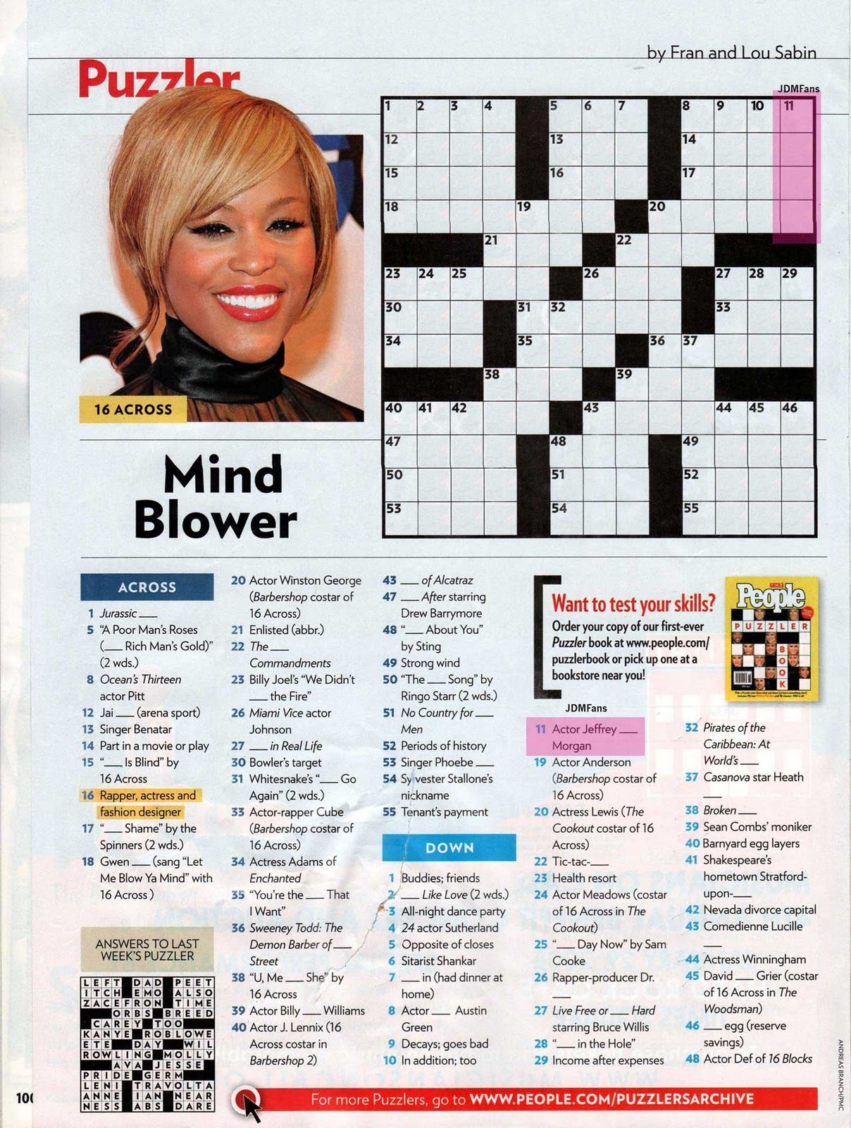 The Celebrity 100 Crossword Puzzle - forbes.com