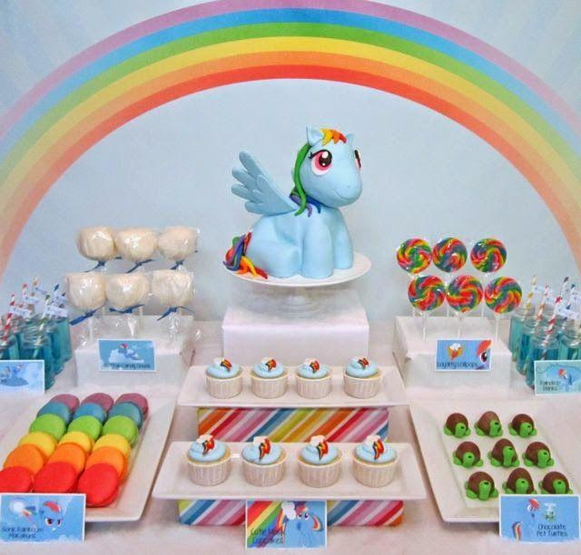 Decoración de Fiestas Infantiles de My Little Pony | Crear nuevo ...