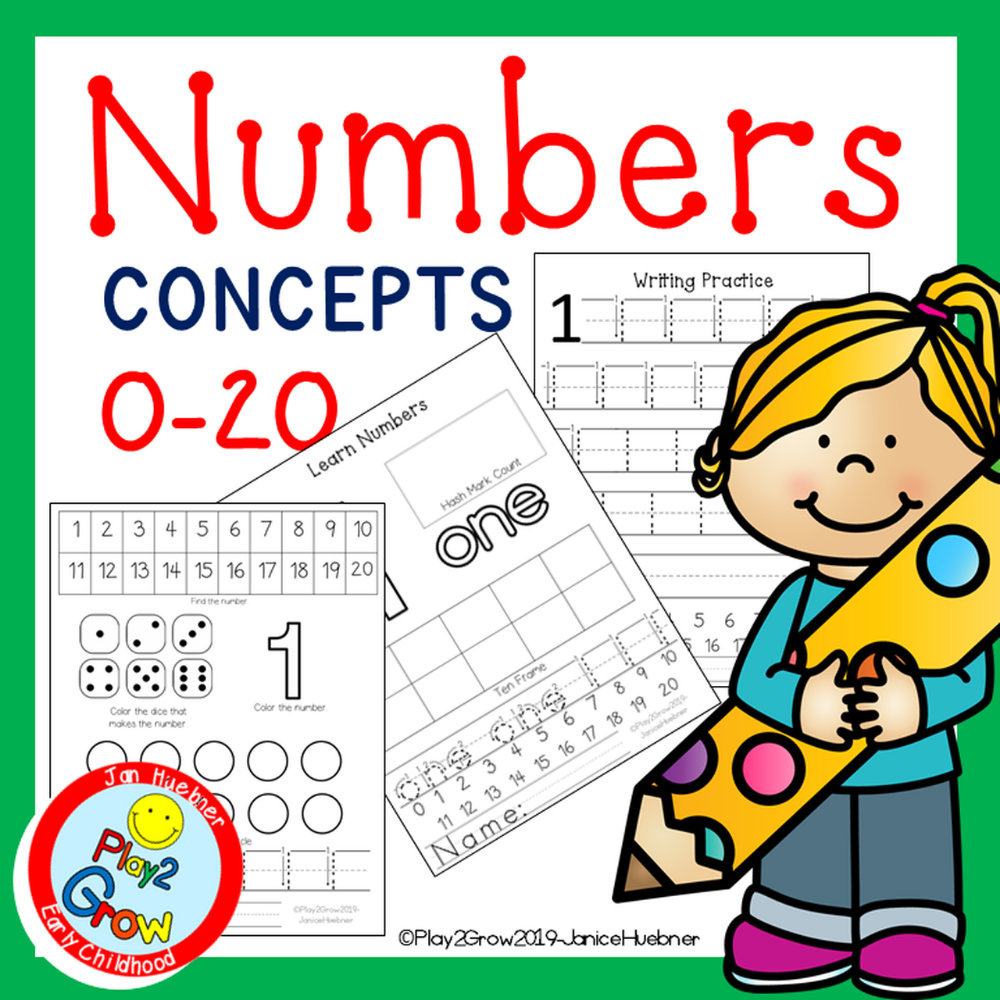 Learn Number Concepts NO PREP