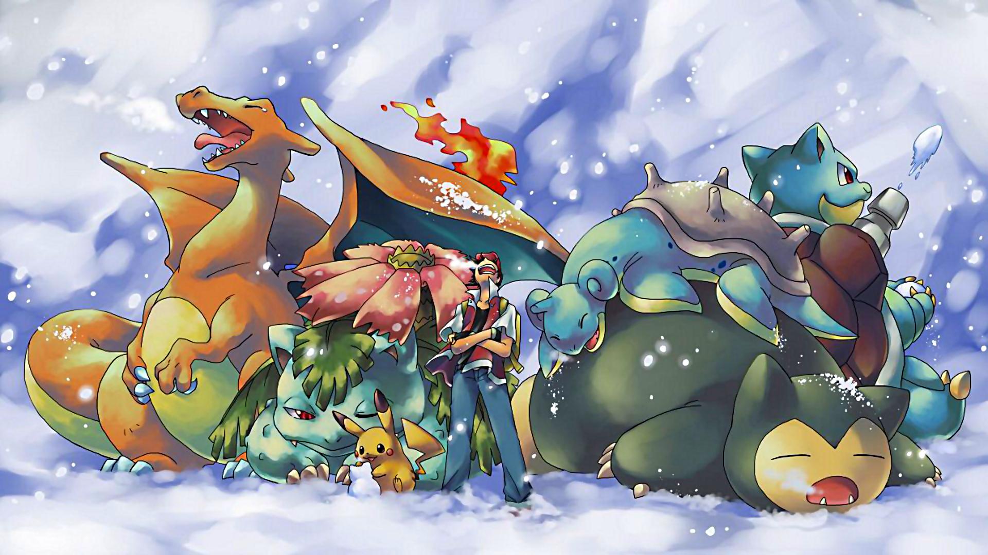 Pokemon Winter HD Wallpaper by