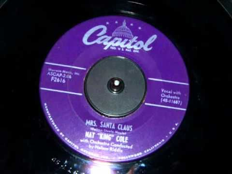 Nat King Cole - Mrs. Santa Claus   Christmas music, Best christmas music, Favorite christmas songs
