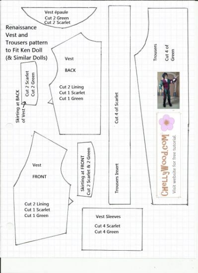 01f227ad5fe4 FREE Printable Barbie Doll Clothes