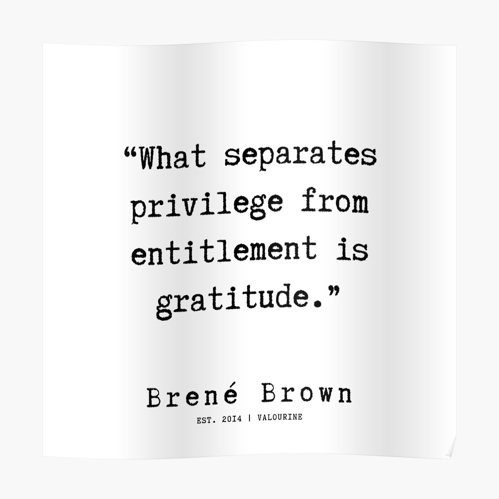 9    |190911 | Brene  Brown Quote  | Poster by QuotesGalore