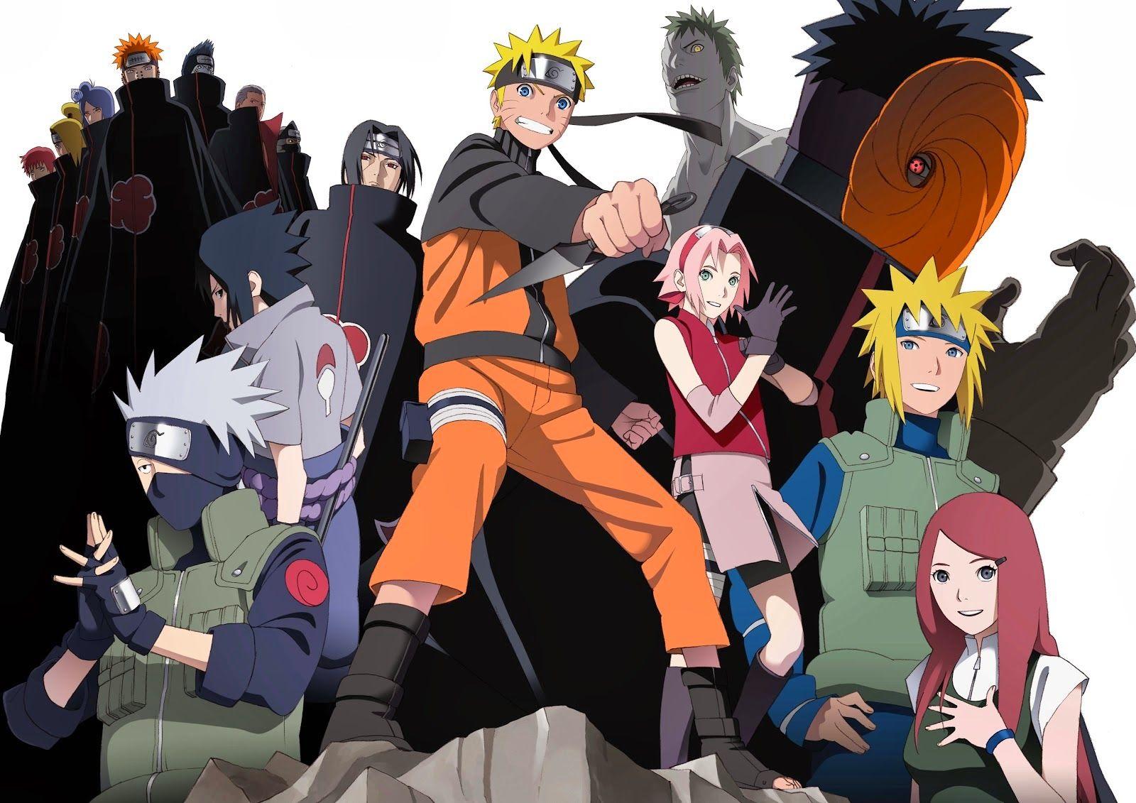 Gambar Animasi Naruto Dan Hinata
