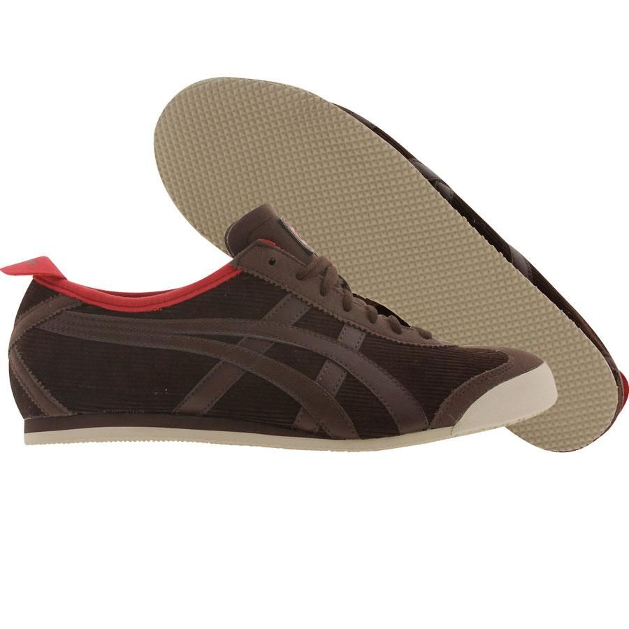 the latest 989a8 03827 Asics Onitsuka Tiger Mexico 66 shoes in coffee bean | Want!