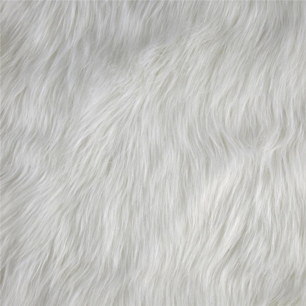 Luxury Faux Fur Fox White Faux Fur Fabric Fur Background Faux