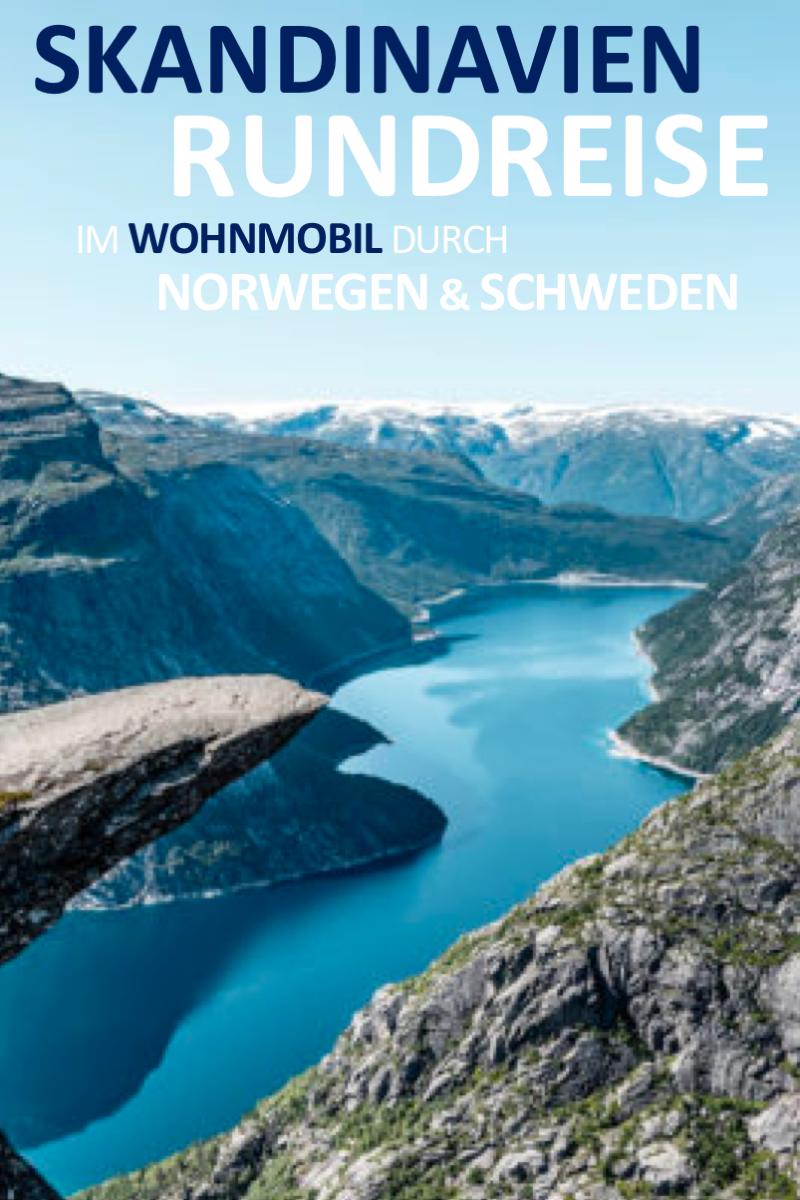 In 9 Tagen durch Norwegen und Schweden #rundreise #wohnwagen