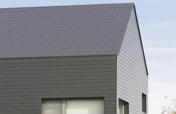 Vertigo Fibre Cement Slates For Vertical Applications Roof Cladding Concrete Roof Tiles Clay Roof Tiles