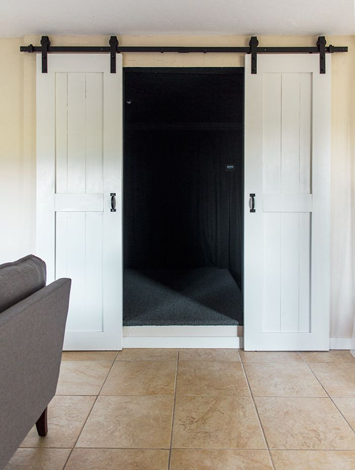 DIY Barn Door Plans & Tutorial | Diy barn door plans, Diy ...