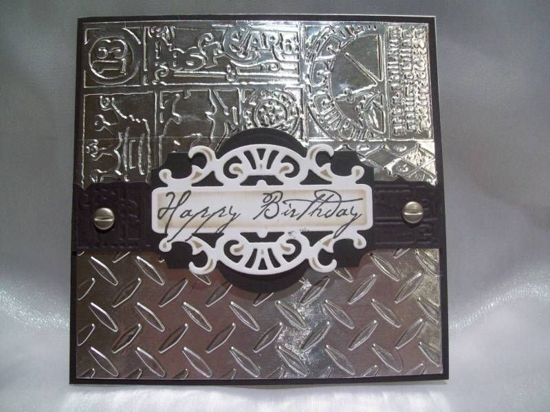 Man's Happy Birthday by Karen Stark - Cards and Paper Crafts at Splitcoaststampers