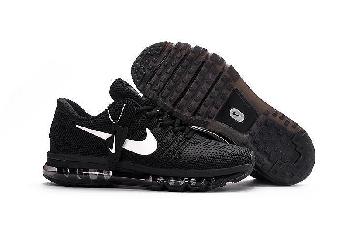 the best attitude 99d4b 410e3 Wholesale Nike Air Max 2017 Black White Sports Shoes Outlet Shop -  69.88