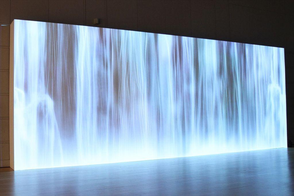 audi waterfall projection - Google Search | Technology | Waterfall, Environmental design, Design