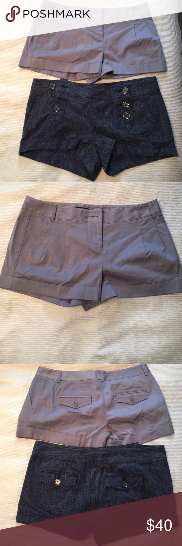 EXPRESS SHORT BUNDLE!!! 2 for 1!! Both in perfect condition!!! Express Shorts