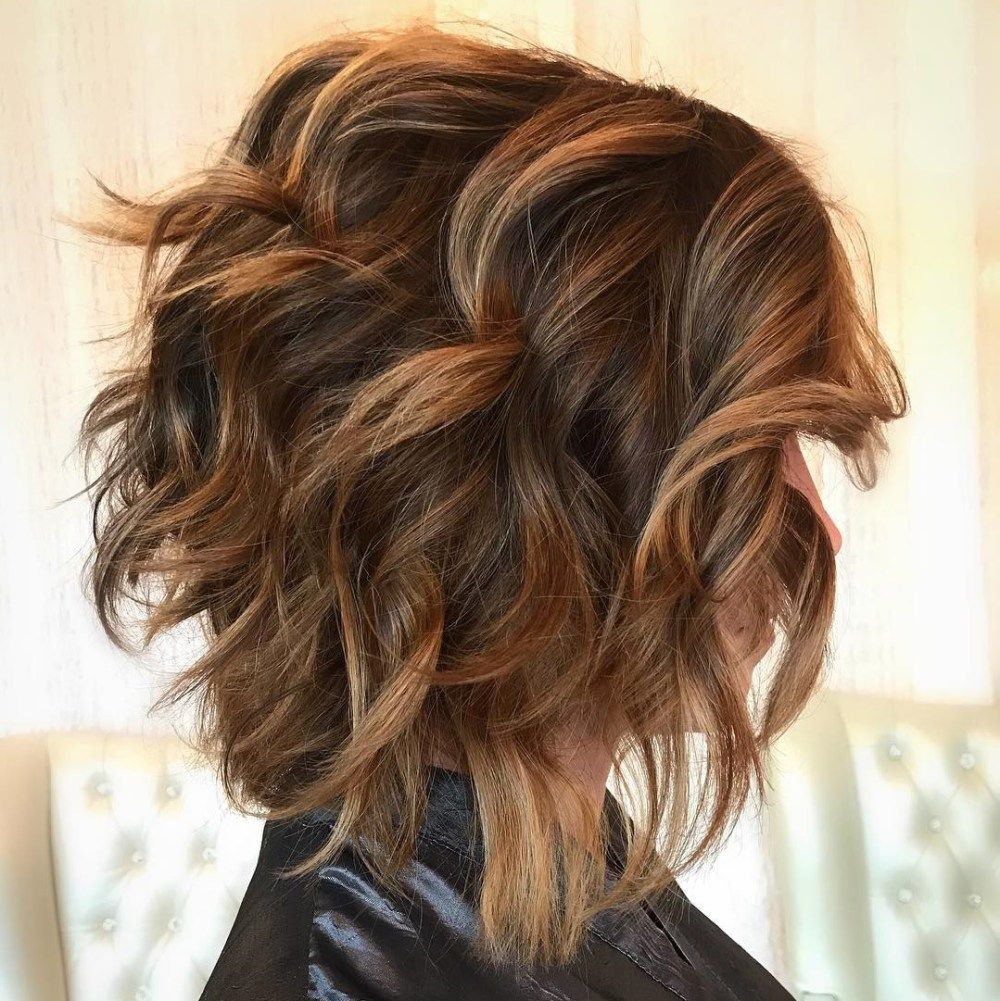 60 most hairstyles for thick wavy hair bob