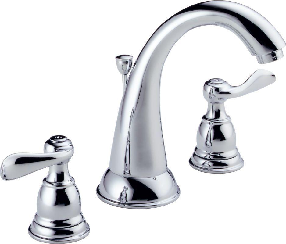 Delta B3596lf Delta Faucets Widespread Bathroom Faucet Bathroom Sink Faucets