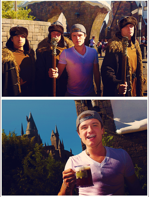 Josh Hutcherson Harry Potter World Harry Potter Obsession Harry Potter Love Hunger Games Ive been hitting the links and i feel like ive learned a lot this past week. josh hutcherson harry potter world