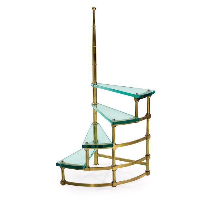 Fontana Arte, Library Ladder, 1950s.