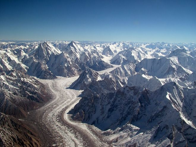 An Example Of Folded Mountains The Himalayas Httpenpedia