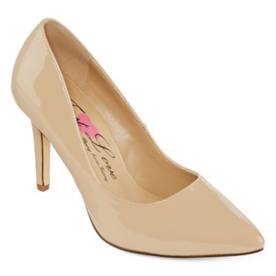 616870d25ce0 Buy First Love Paris Patent Pumps - Wide Width today at jcpenney.com. You  deserve great deals and we ve got them at jcp!