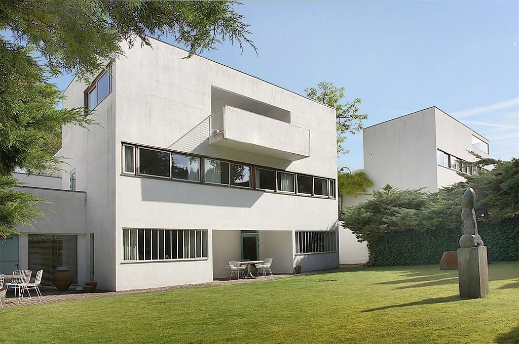 Villa by mogens lassen in the s lyst area north of for Findelbloc arquitectos