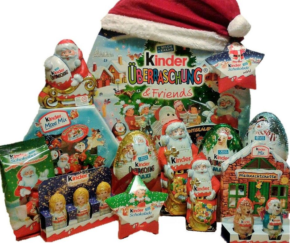Toys R Us Weihnachtskalender.Advent Calendar Kinder Surprise Friends Set Kinder Surprise