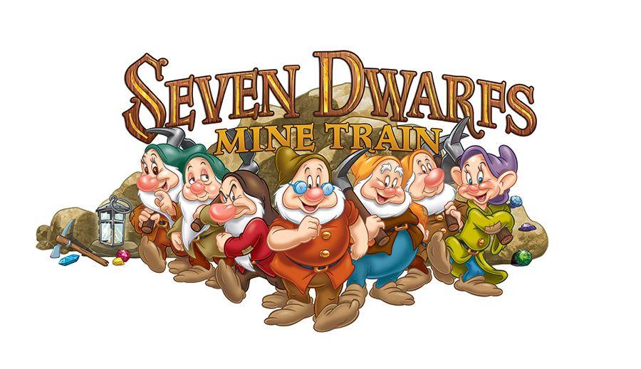 First Look: Seven Dwarfs Mine Train Logo Unveiled