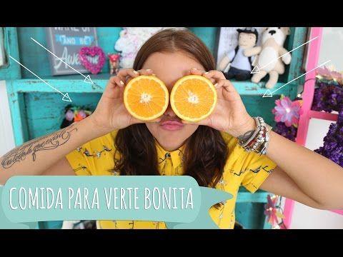 COMIDA QUE TE HACE VER BONITA ♥ - Yuya - YouTube [3:40-6:00] -Red Fruits -Muffins