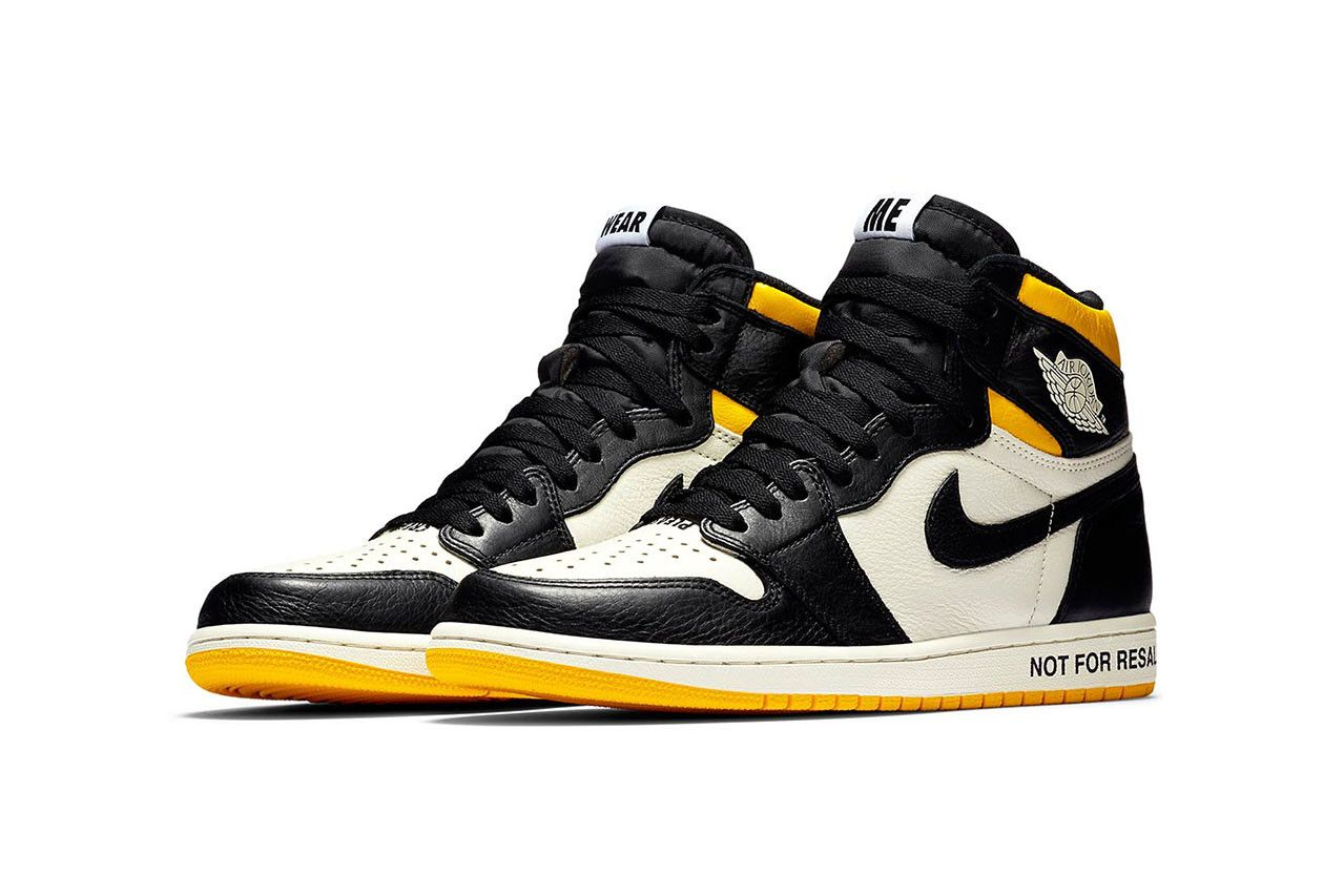 Air Jordan 1 Yellow \