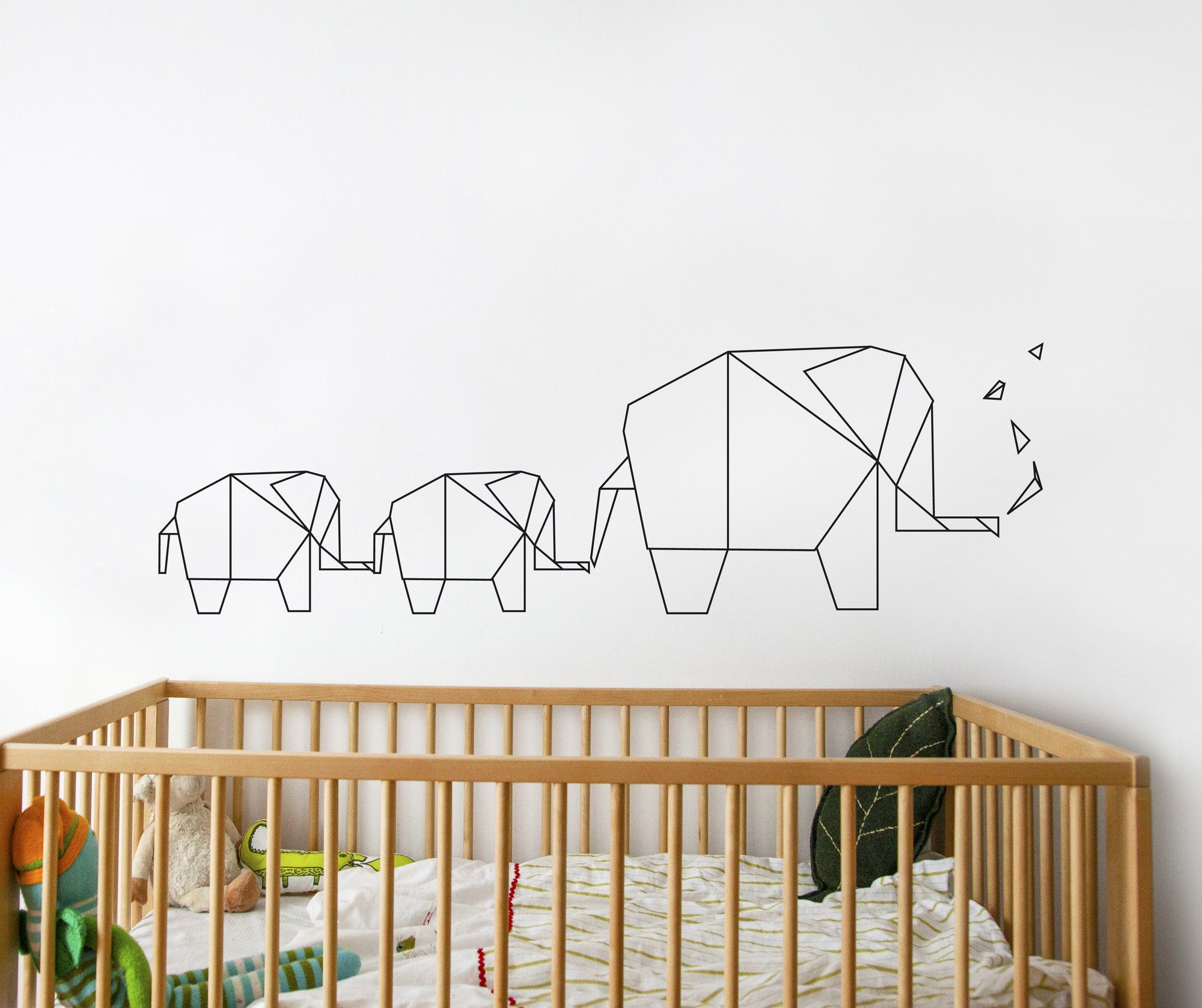 Piccolo elephant origami wall decal pinteres piccolo elephant origami wall decal more amipublicfo Images