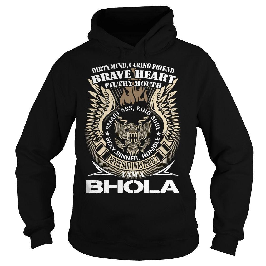 BHOLA Last Name, Surname TShirt v1