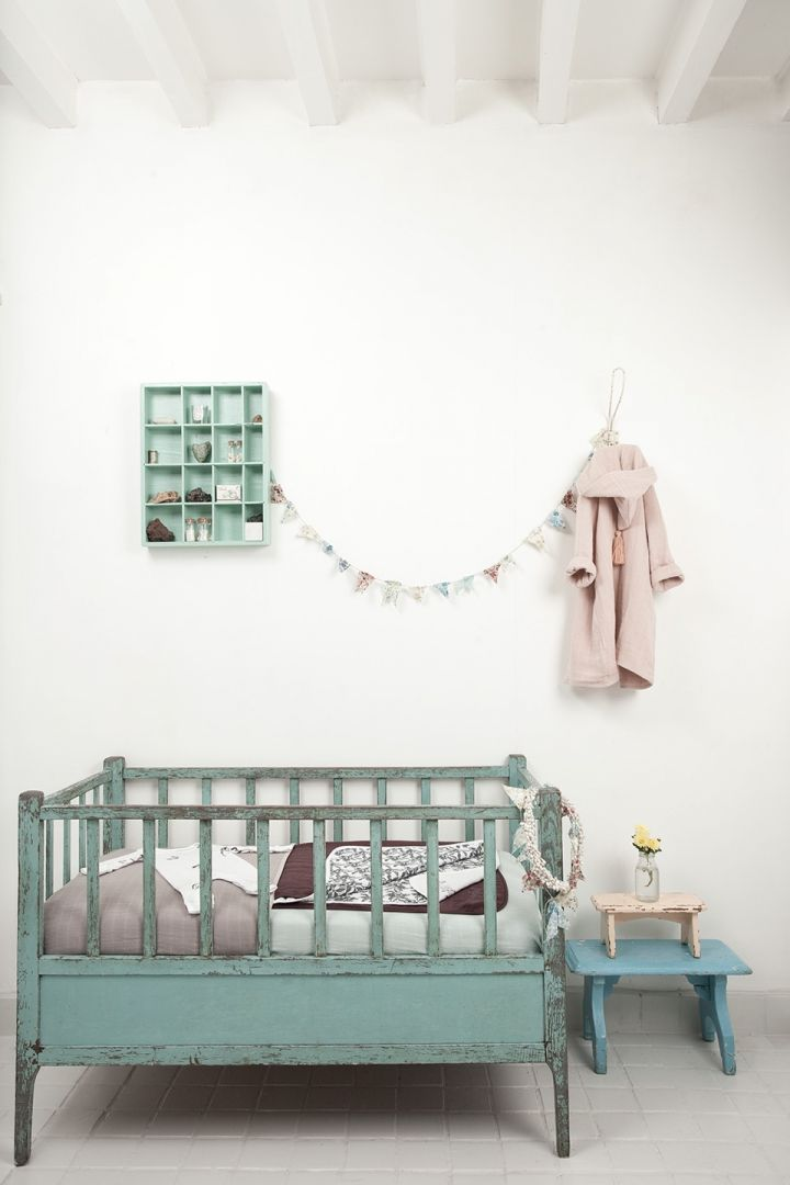 A beautiful baby nursery - especially love that cot/crib