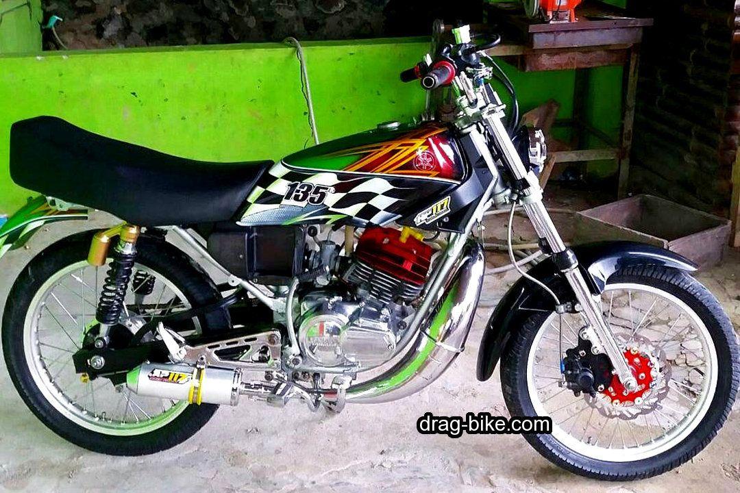 Modifikasi Rx King Knalpot Udang Drag Racing Cafe Racer Motor