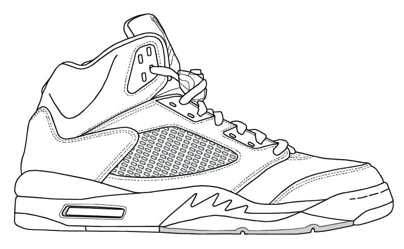 Jordan Shoes Coloring Pages Airjordanshoescoloringpages Freecoloringpagesjordanshoes Freeprintablejordanshoescolorin Shoes Drawing Jordans Sneakers Drawing