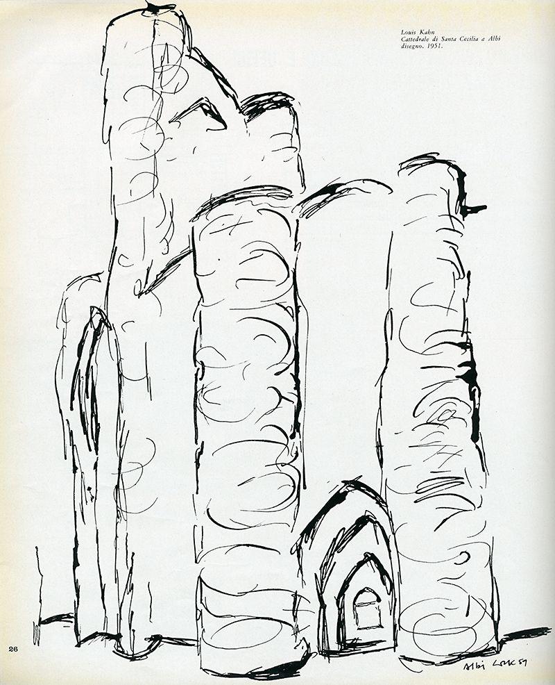 Louis Kahn. Casabella 275 1963: 26