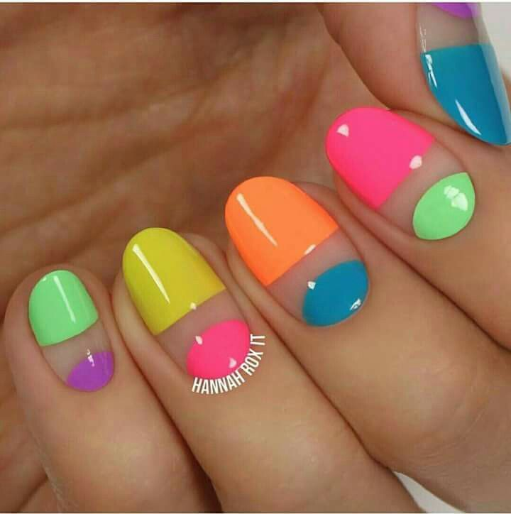 Negative space nail art ideas | Nail Art Designs and Ideas Gallery ...