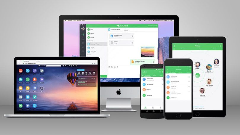 Need To Move Files Between Your Phone And Computer The Airdroid App Can Exchange Files With Windows Mac Ios And Android Devic Phone Tablet Phone Management