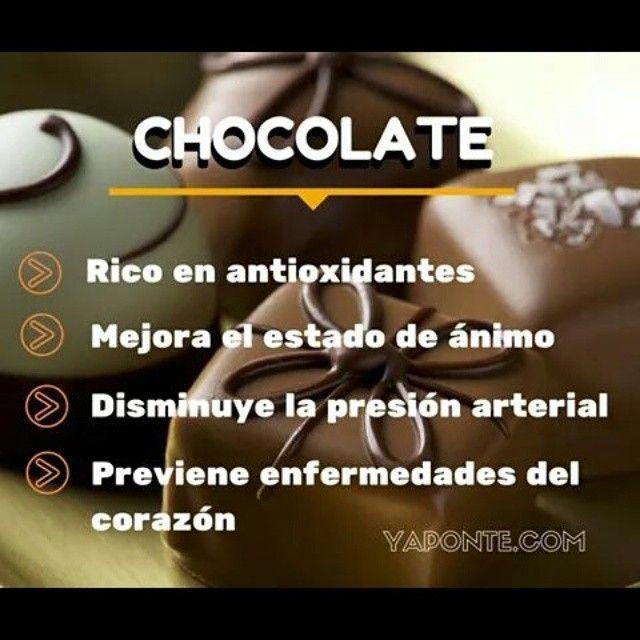 Una dulce manera de mantenerse #saludable, el chocolate negro tiene grandes beneficios para la #salud  #YaPonte
