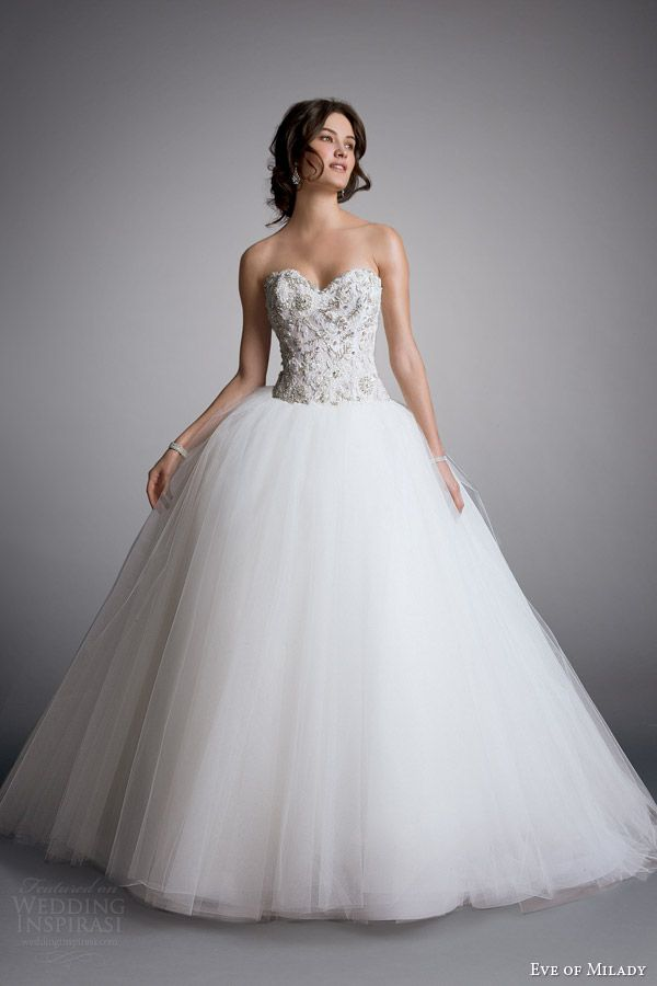 Eve of Milady 2014 Boutique Bridal Collection | Ceremony Bridal Look ...
