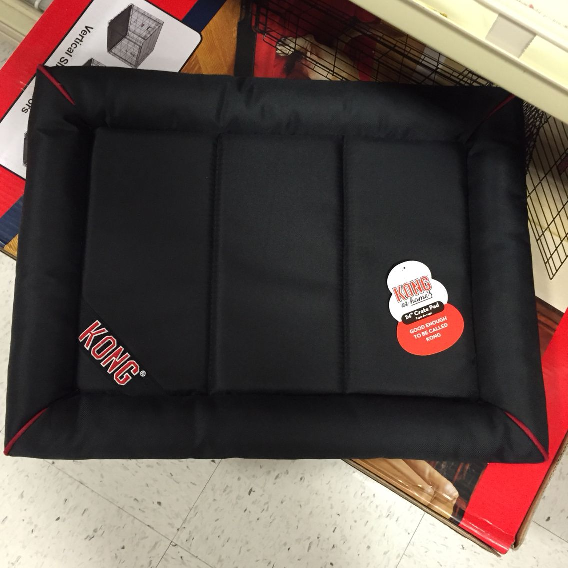 KONG® Durable Crate Pad Pet Bed Pet bed, Crates