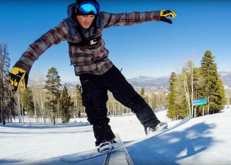 4 GoPro Tips For Snowboarding Selfies