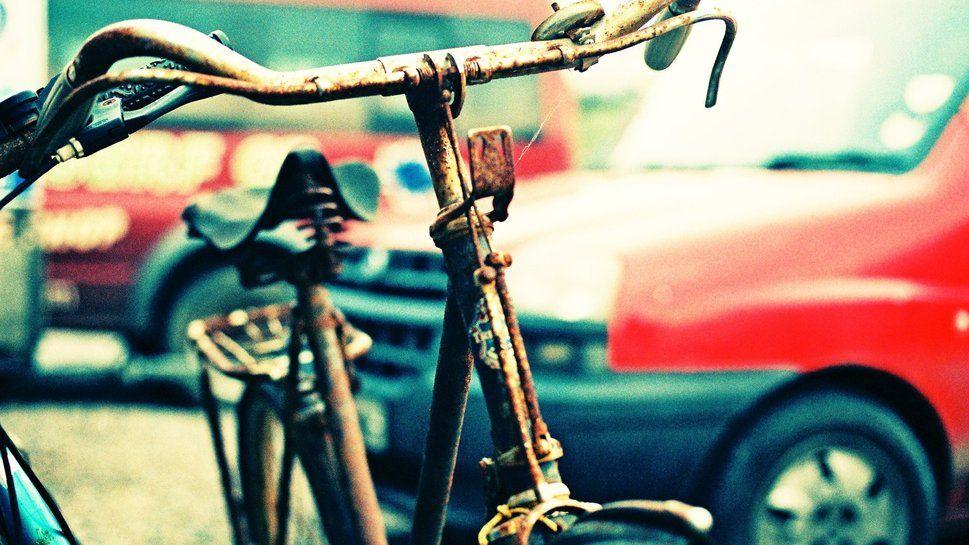 bici, fotografía, hermosa, rusty wallpaper
