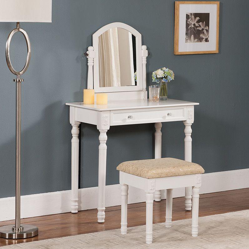 Best Vanity Set With Mirror Wayfair Furniture Vanity 400 x 300