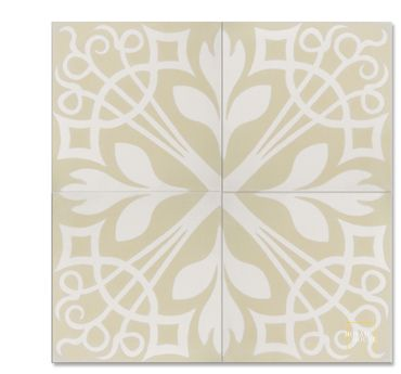 New York C42-14 encaustic tile from Mosaic House