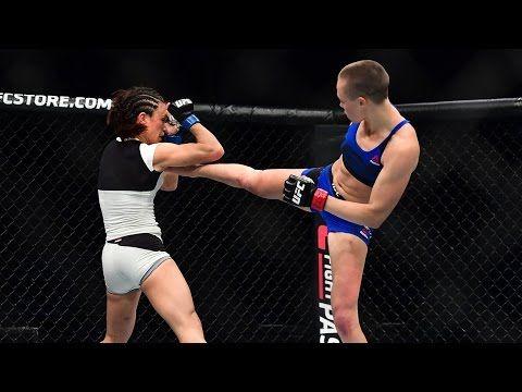 MMA Michelle Waterson vs. Rose Namajunas | UFC FIGHT NIGHT HIGHLIGHTS