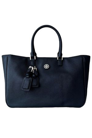 11881d73aff2 Tory Burch Roslyn Tote in Tory Navy