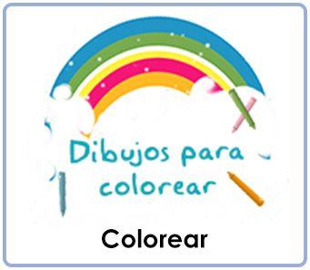Colorear, educación infantil, pintar, dibujos para imprimir