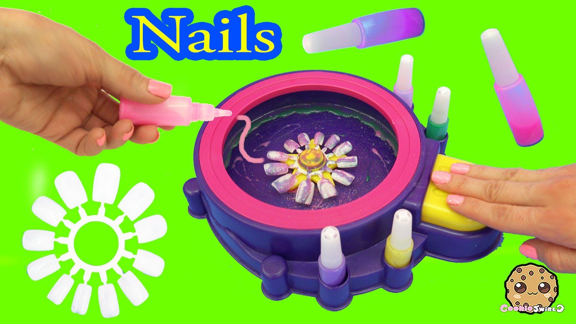 Fail - Make Your Own Custom Nails with Glitter Nail Swirl Art Kit ...